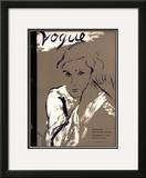 "Vogue Cover - November 1934 Framed Giclee Print by Carl ""Eric"" Erickson"