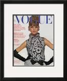 Vogue Cover - September 1963 Framed Giclee Print by Bert Stern