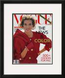 Vogue Cover - September 1990 Framed Giclee Print by Patrick Demarchelier