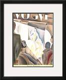 Vogue Cover - June 1926 Framed Giclee Print by William Bolin