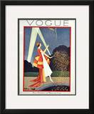 Vogue Cover - May 1926 Framed Giclee Print by George Wolfe Plank