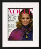 Vogue Cover - August 1968 Framed Giclee Print by Gianni Penati