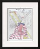 Vogue Cover - May 1922 Framed Giclee Print by Georges Lepape