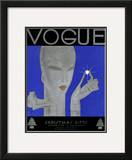Vogue Cover - December 1928 Framed Giclee Print by Eduardo Garcia Benito