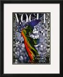 Vogue Cover - December 1945 Framed Giclee Print by Erwin Blumenfeld