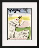 "Vogue Cover - June 1938 Framed Giclee Print by Carl ""Eric"" Erickson"