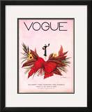 Vogue Cover - August 1932 Framed Giclee Print by Georges Lepape