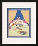 Vogue Cover - December 1915 Framed Giclee Print by Robert McQuinn