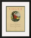 Vogue Cover - May 1923 Framed Giclee Print by Leslie Saalburg