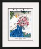 Vogue Cover - June 1923 Framed Giclee Print by Georges Lepape
