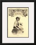 Vogue Cover - August 1906 Framed Giclee Print by Walter Briggs