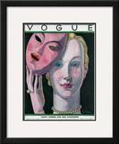 Vogue Cover - November 1930 Framed Giclee Print by Georges Lepape