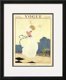 Vogue Cover - June 1919 Framed Giclee Print by Georges Lepape