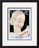 Vogue Cover - September 1926 Framed Giclee Print by Georges Lepape
