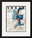 Vogue Cover - March 1951 Framed Giclee Print by Richard Rutledge