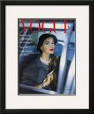 Vogue Cover - March 1957 Framed Giclee Print by Clifford Coffin