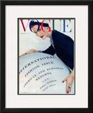 Vogue Cover - March 1953 Framed Giclee Print by Erwin Blumenfeld