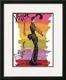 Vogue Cover - September 1939 Framed Giclee Print by Christian Berard