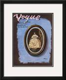Vogue Cover - October 1938 Framed Giclee Print by Eduardo Garcia Benito