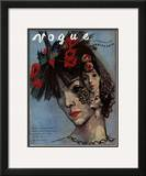 Vogue Cover - March 1936 Framed Giclee Print by Pavel Tchelitchew