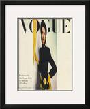 Vogue Cover - August 1945 Framed Giclee Print by Erwin Blumenfeld