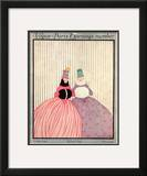 Vogue Cover - October 1915 Framed Giclee Print by Irma Campbell