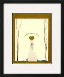 Vogue Cover - November 1918 Framed Giclee Print by Georges Lepape