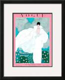 Vogue Cover - May 1925 Framed Giclee Print by Georges Lepape