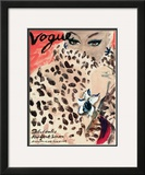 "Vogue Cover - November 1939 Framed Giclee Print by Carl ""Eric"" Erickson"