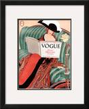 Vogue Cover - March 1912 Framed Giclee Print by George Wolfe Plank