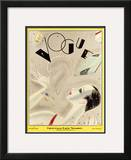 Vogue Cover - December 1926 Framed Giclee Print by William Bolin