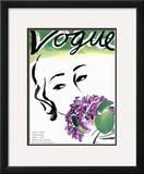 "Vogue Cover - May 1931 Framed Giclee Print by Carl ""Eric"" Erickson"