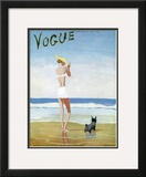 Vogue Cover - July 1937 Framed Giclee Print by Eduardo Garcia Benito