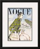 "Vogue Cover - January 1947 Framed Giclee Print by Carl ""Eric"" Erickson"