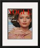 Vogue Cover - March 1974 Framed Giclee Print by Francesco Scavullo