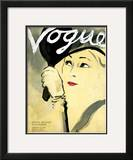 "Vogue Cover - February 1932 Framed Giclee Print by Carl ""Eric"" Erickson"