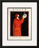 Vogue Cover - September 1923 Framed Giclee Print by Georges Lepape