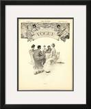 Vogue Cover - April 1903 Framed Giclee Print by Eduardo Garcia Benito