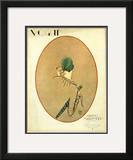 Vogue Cover - March 1926 Framed Giclee Print by Porter Woodruff