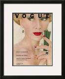 Vogue Cover - October 1951 Framed Giclee Print by Clifford Coffin
