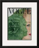 Vogue Cover - February 1953 Framed Giclee Print by Erwin Blumenfeld