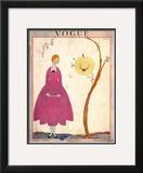 Vogue Cover - May 1917 Framed Giclee Print by Georges Lepape