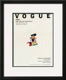 Vogue Cover - January 1951 Framed Giclee Print by Erwin Blumenfeld