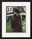 Vogue Cover - September 1945 Framed Giclee Print by Constantin Joffé