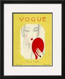 Vogue Cover - November 1925 Framed Giclee Print by Eduardo Garcia Benito