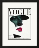 Vogue Cover - May 1945 Framed Giclee Print by Erwin Blumenfeld