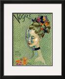 Vogue Cover - July 1935 Framed Giclee Print by Cecil Beaton