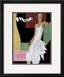 Vogue Cover - June 1929 Framed Giclee Print by William Bolin