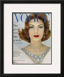 Vogue Cover - November 1957 Framed Giclee Print by  Leombruno-Bodi
