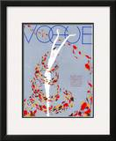 Vogue Cover - August 1932 Framed Giclee Print by William Bolin